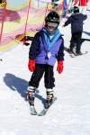 Ryan's first ski lesson